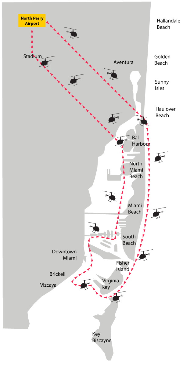 tour b | south beach helicopters